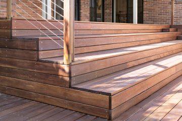 Timber deck build at Davidson, Northern Beaches